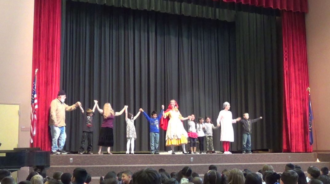 Lyrical Opera Theater teaches elementary students about opera