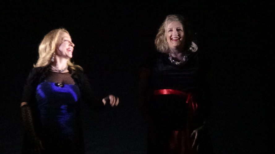 "Lyrical Opera Theater's ""Heart's Song"" concert. Susan Haderlie and Lynnette Owens sing ""My Funny Valentine"""