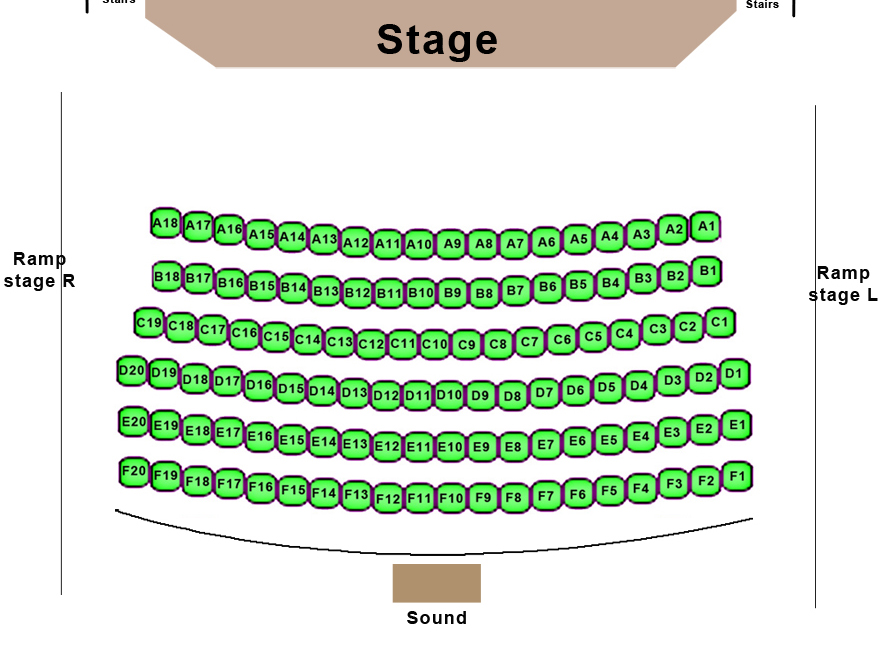 Midvale Performing Arts Center Seating Chart