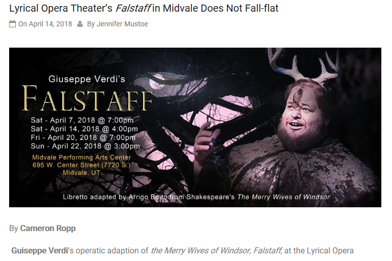 Falstaff review