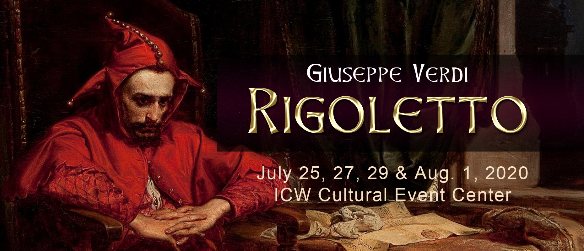 Lyrical Opera Theater will perform Rigoletto in spring 2020