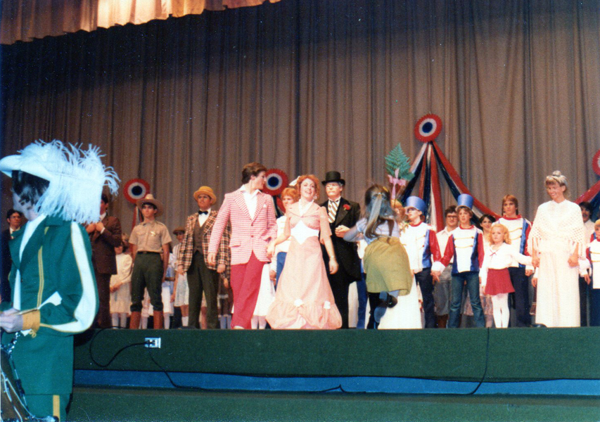 Lynnette Owens performs Marion in The Music Man