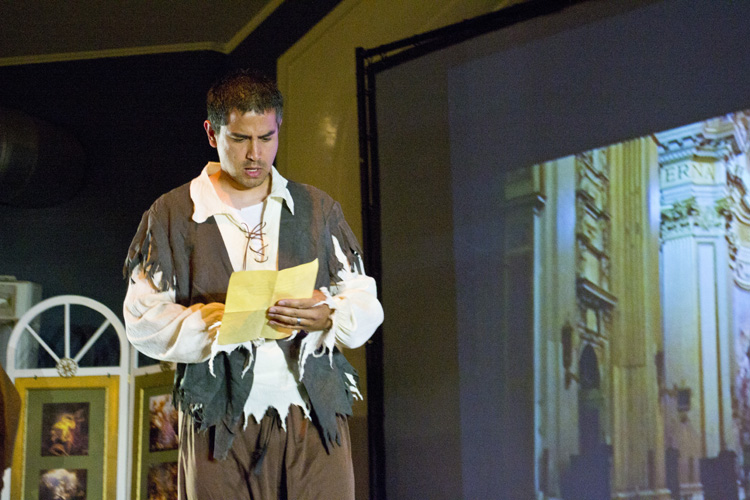 "Lyrical Opera Theater's ""Tosca,"" Act 1, Angelotti ""A piè della Madonna"""